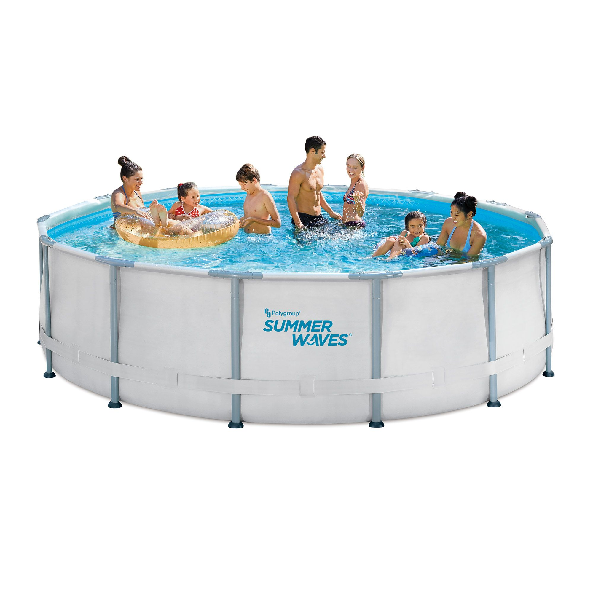 Summer Waves 14ft Elite Frame Pool With Filter Pump Cover And Ladder Walmart Com In 2020 Summer Waves Pool Cover Roller Swimming Pool Liners