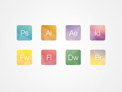 Creative adobe icons by pypple also iconography pinterest app icon rh in