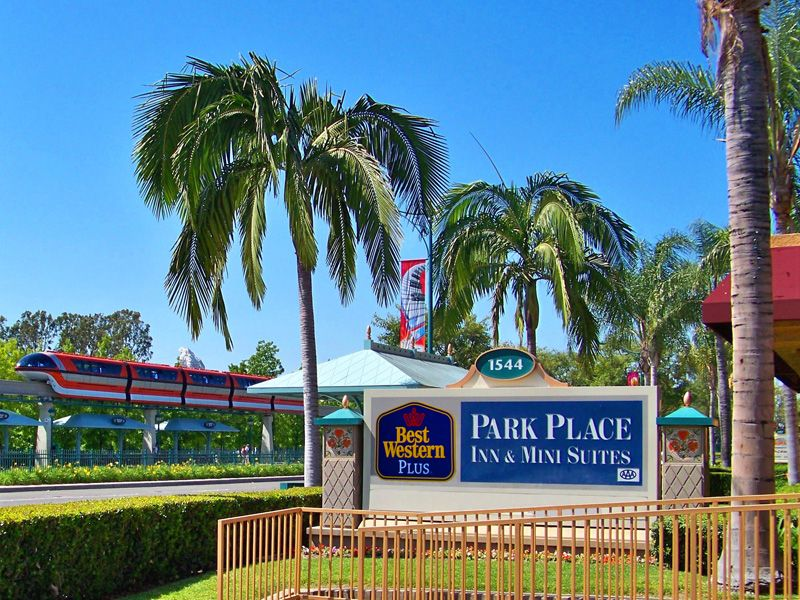 best western park place inn across the street from disneyland rh pinterest com