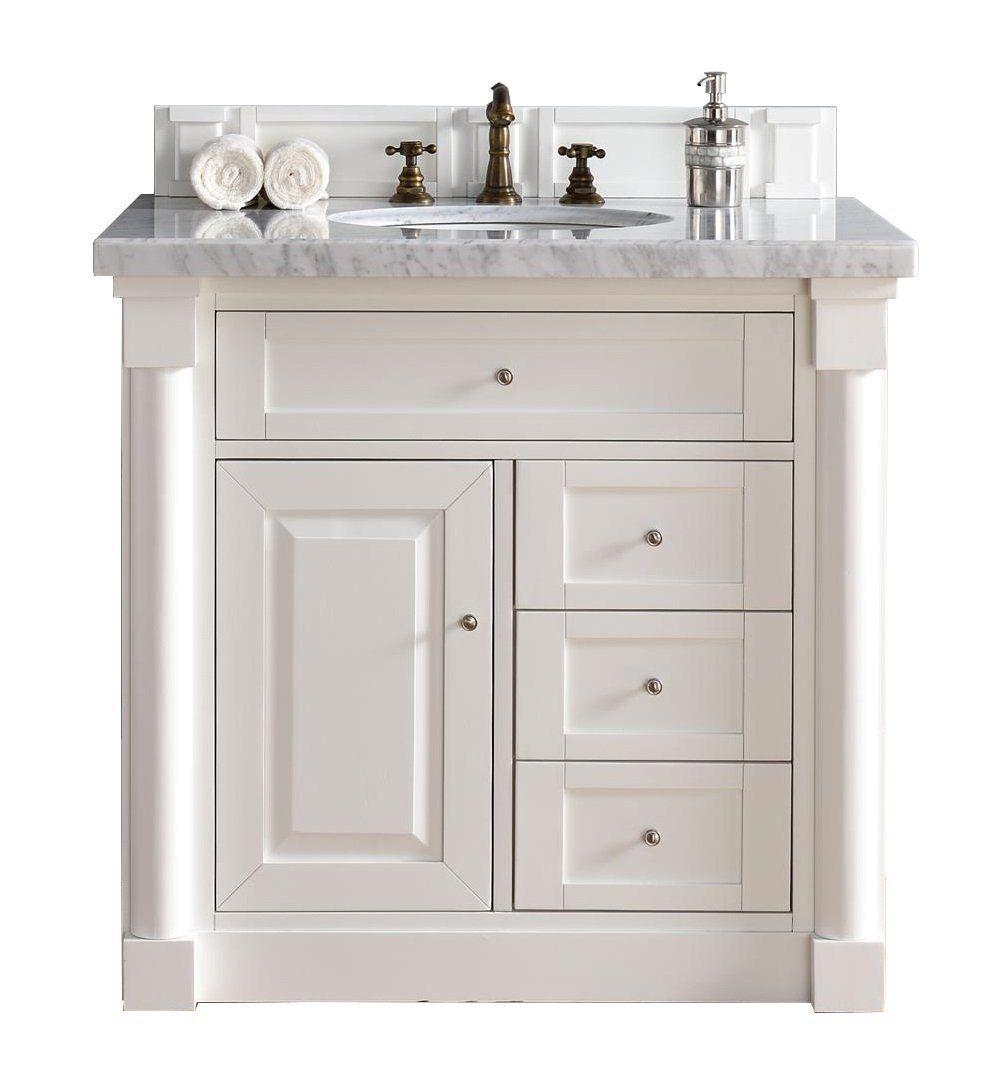 36 new haven cottage white single bathroom vanity james martin rh pinterest com