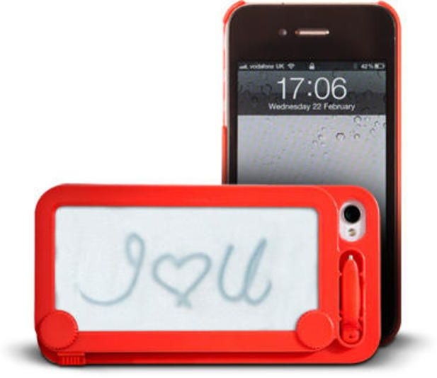 Etchasketch iPhone Case @Luuux