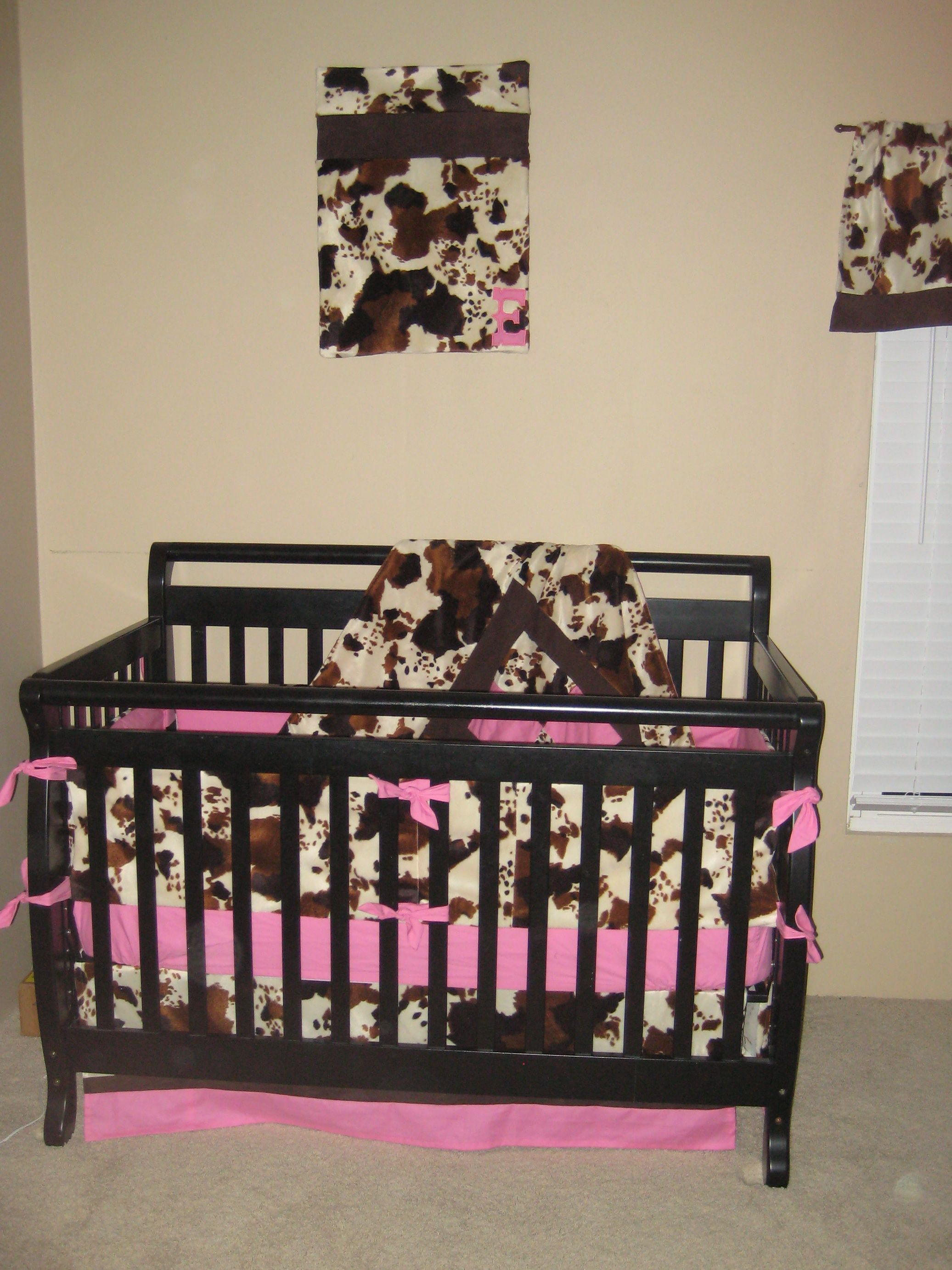 Cowgirl Crib Bedding I Made This For My Daughter Before She Was Born She And My Son Share A Cowboy Girl Th Baby Girl Room Country Baby Rooms Cowgirl Nursery
