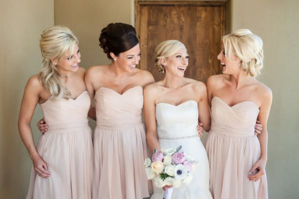 Light Champagne Bridesmaid Dresses