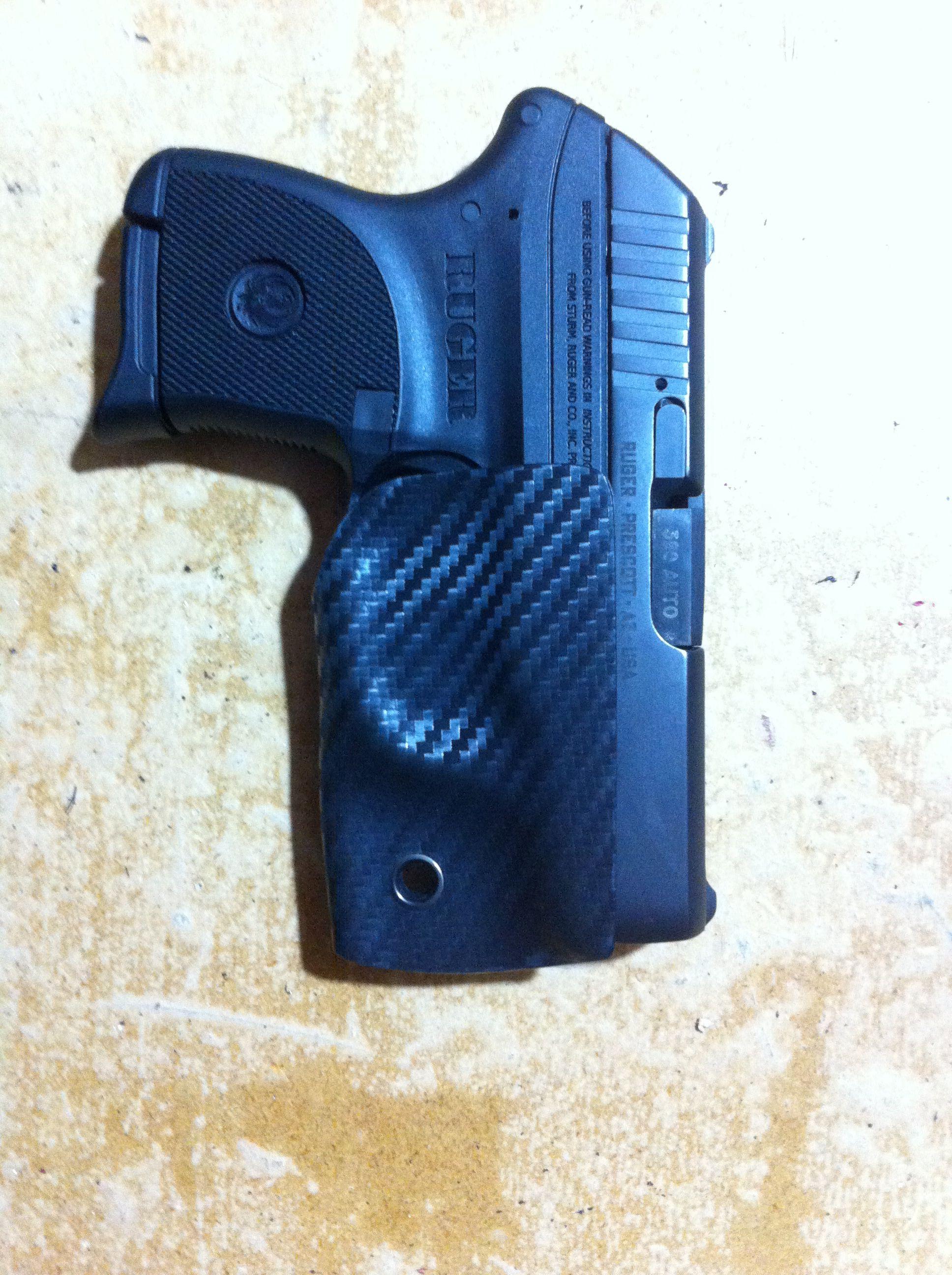 Sabby Tactical Carbon fiber kydex tether pocket holster for
