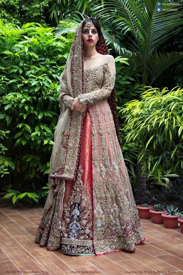 Nickie Nina Pakistani couture