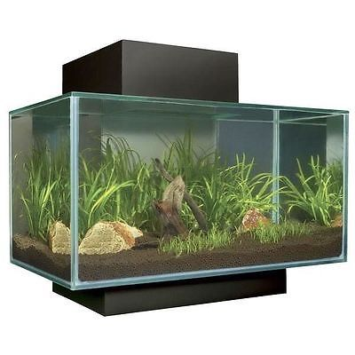 Fluval Edge Led Aquarium Fish Tank 23l 46l 23 46 Litre Gloss White Pewter Black