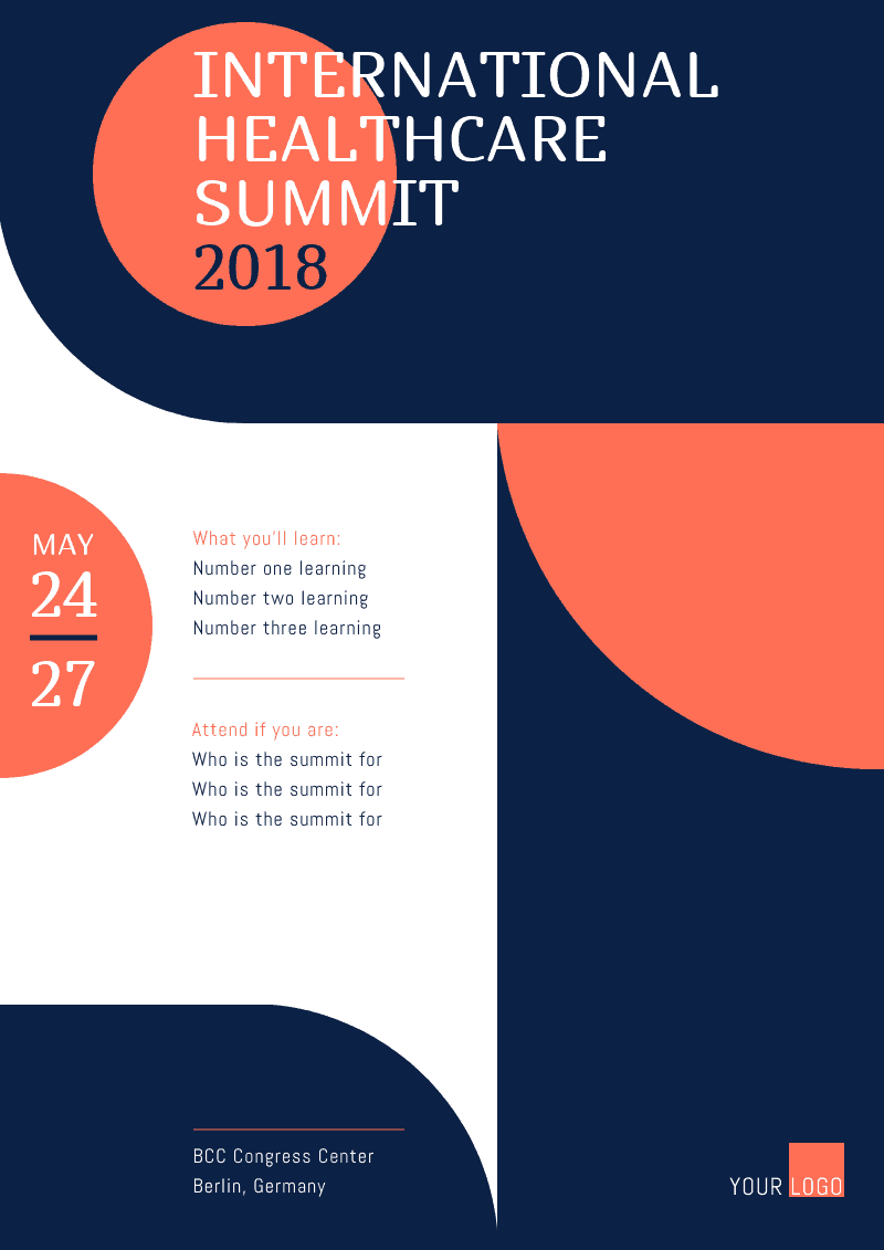 Get Inspired By These 30 Event Poster Designs And Make Your Own Event Poster Design Conference Poster Conference Poster Template