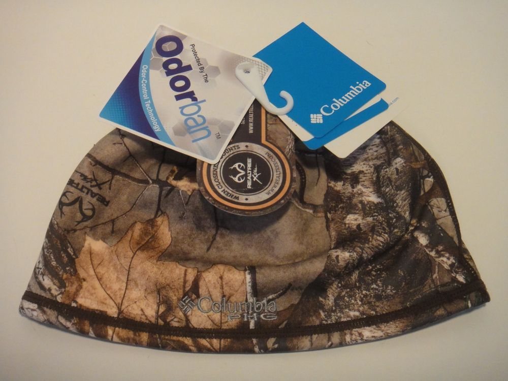 Columbia Phg Realtree Odor-Control Technology Camo Stealth Shot Beanie Size  S M  Columbia 667bee07d09