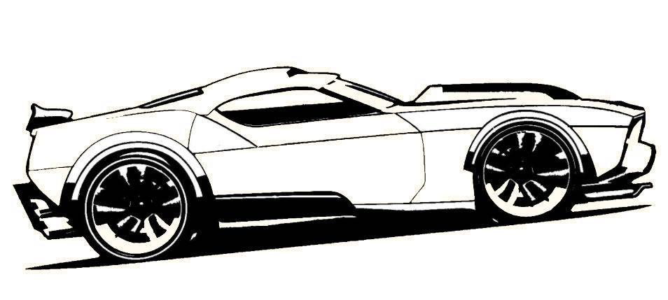 San Andreas Rims Carro Hot Wheels Para Pintar Desenhos De Carros