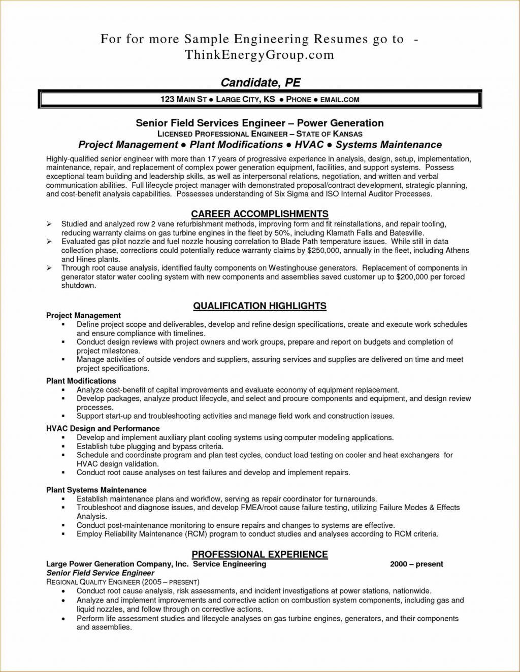 Operating Engineer Resume Examples Pleasing Supplier Quality About Stationary Of Template