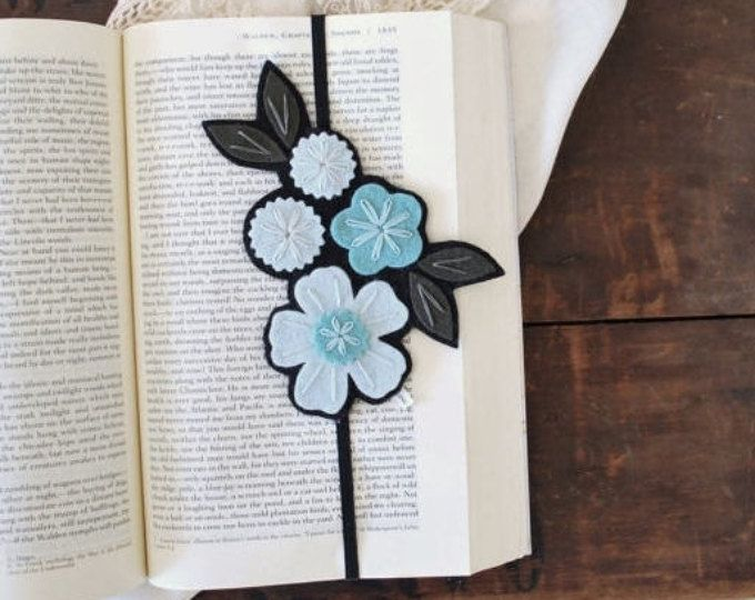 BIRTHDAY SALE Flower Bookmark