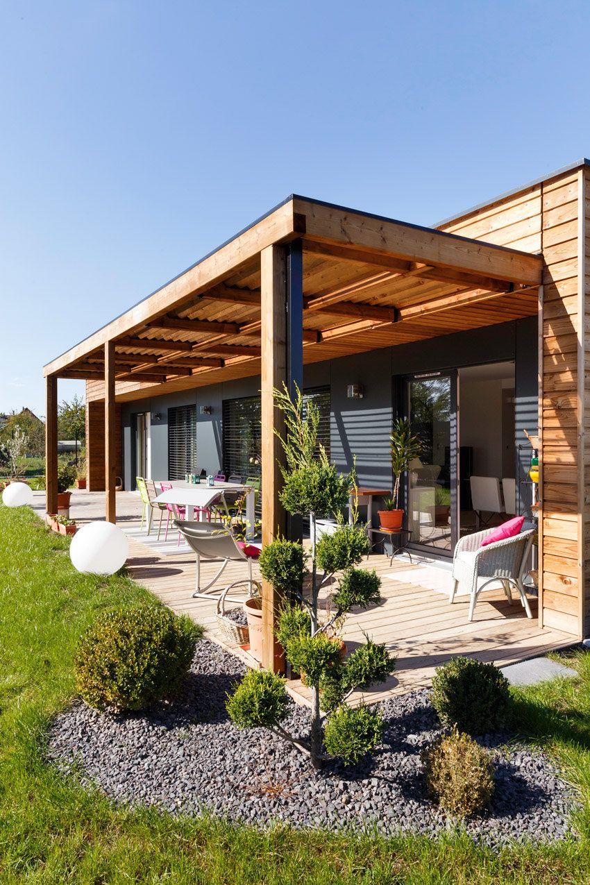 booa maisons ossatures bois design modulables maison bio en 2019. Black Bedroom Furniture Sets. Home Design Ideas