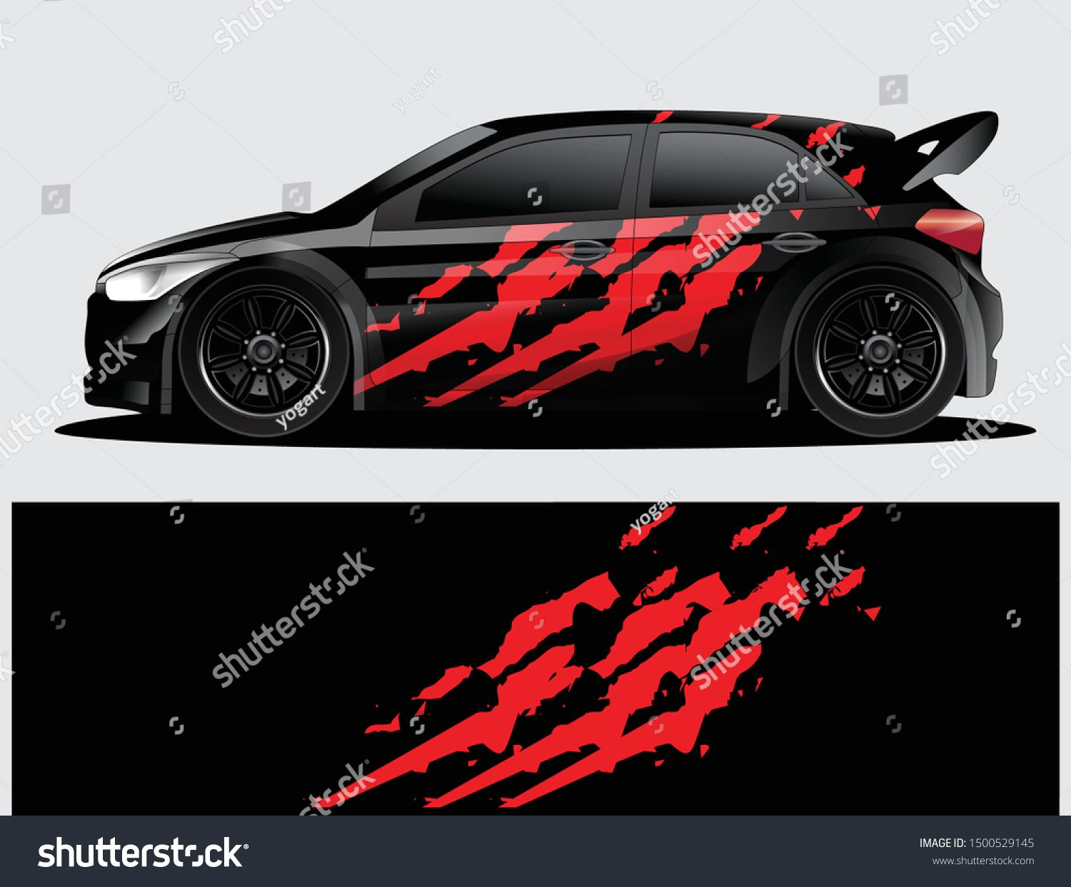 Rally Car Decal Graphic Wrap Vector Abstract Background Rally Car Car Decals Racing Car Design [ 1242 x 1500 Pixel ]