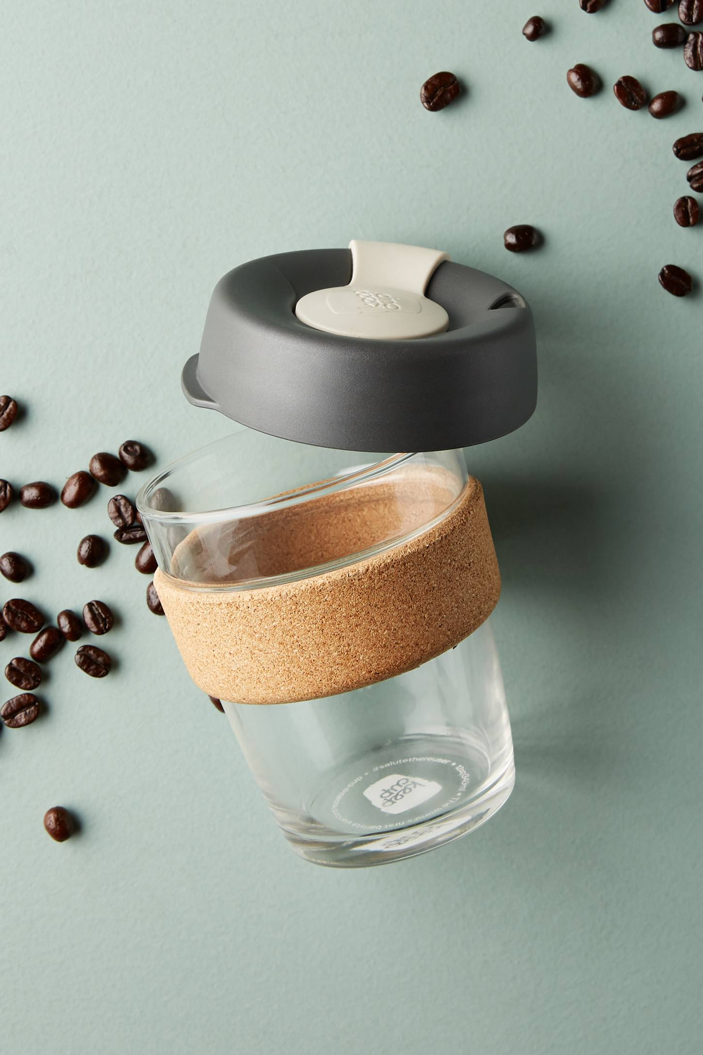 Keepcup Cork Edition 12 Oz Reusable Cup By In Grey Size