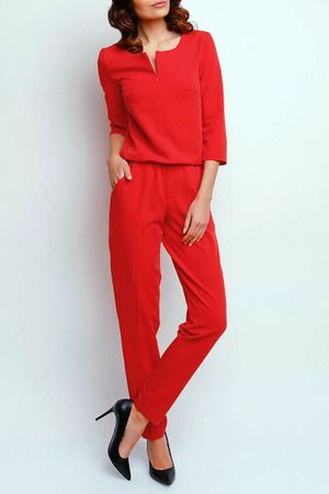 Jumpsuit m397 red