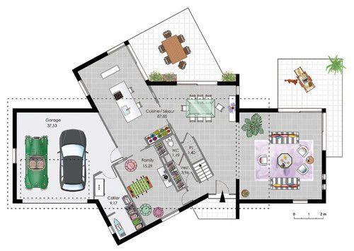 Maison à ossature bois 2