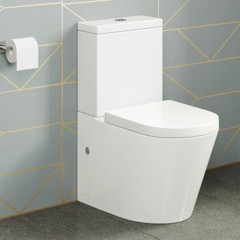 Miraculous Lyon Ii Close Coupled Toilet And Cistern Inc Luxury Soft Creativecarmelina Interior Chair Design Creativecarmelinacom