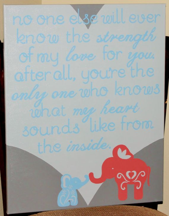 Motherson Elephant Quote By Lucybellecrafts On Etsy 5000 I