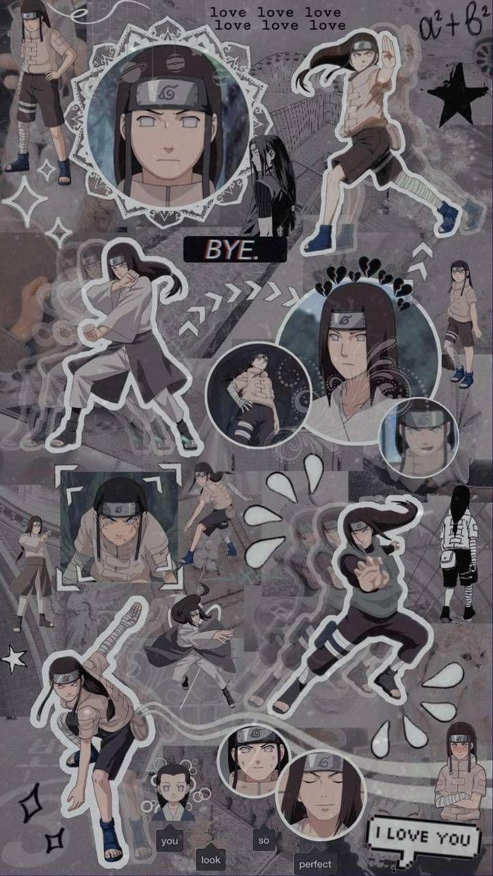Download Aesthetic Neji Hyuga wallpaper by
