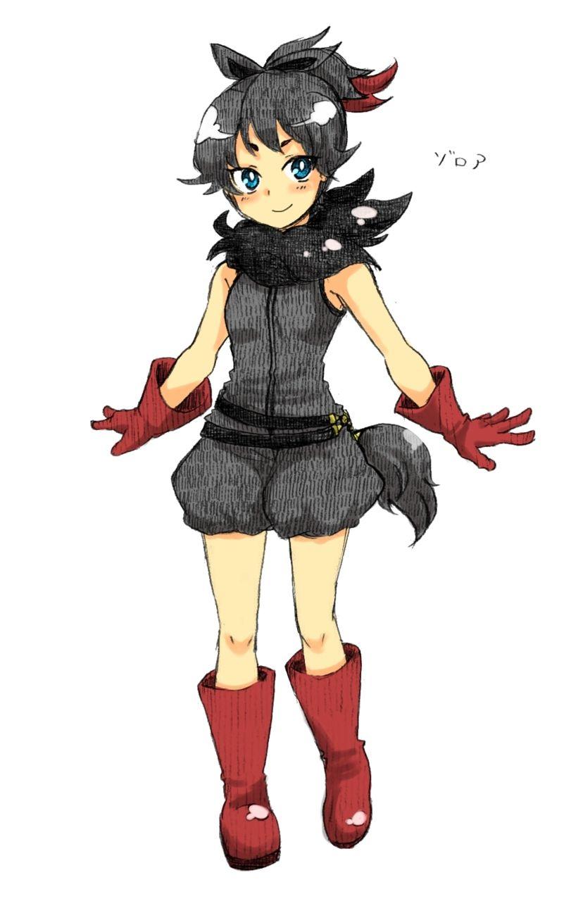 Anonymous asked:Zorua would be awesome if it was a gijinka! I'd even like Zoroark art too! <3