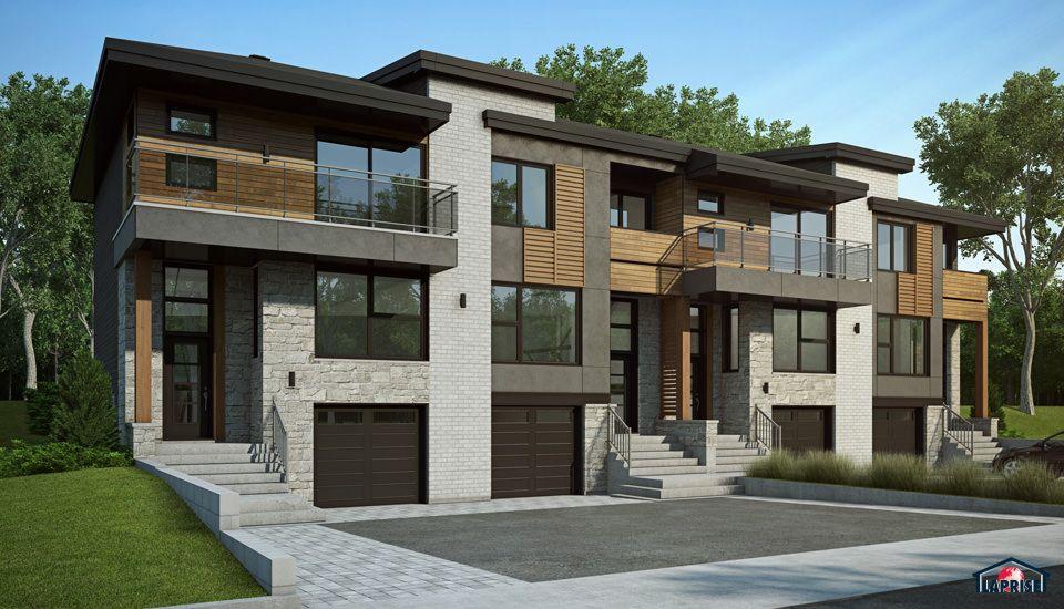 Collection M Maison Laprise - Maisons pré-usinées House Plans - plan maison etage m