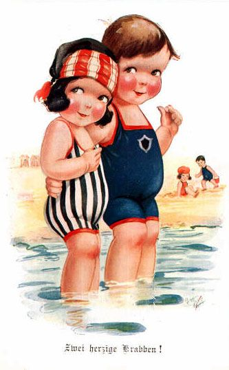 Ilustraciones antiguas de ni os ilustraciones alegria - Ilustraciones infantiles antiguas ...