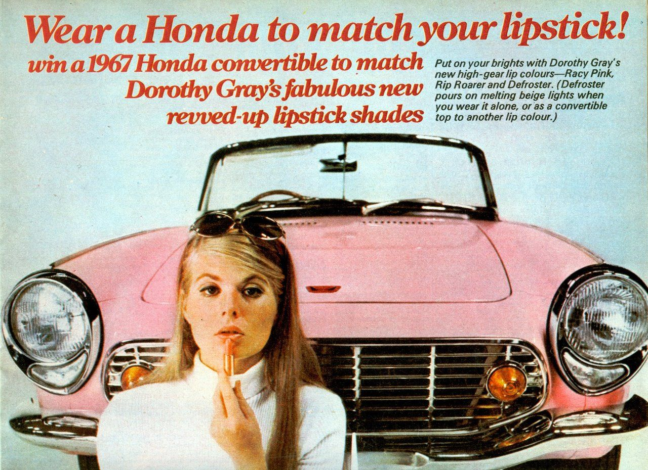 hollyhocksandtulips:  Honda 1967