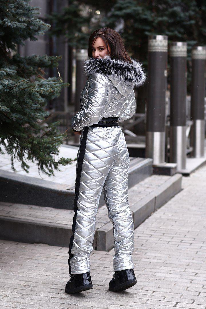 fb0c771c7a38 Зимний лыжный комбинезон Philipp Plein   Modern stylization of ...