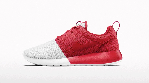 396962e48b446 The Nike Roshe One iD is updated with a new color block option. Create a  pair exclusively at NIKEiD now for  115.