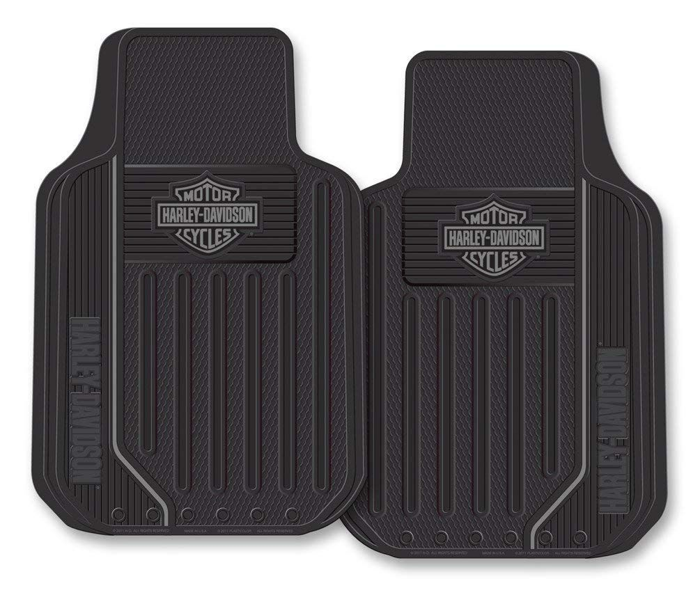 Harley Davidson Floor Mats Elite Series Bar Shield Logo Non