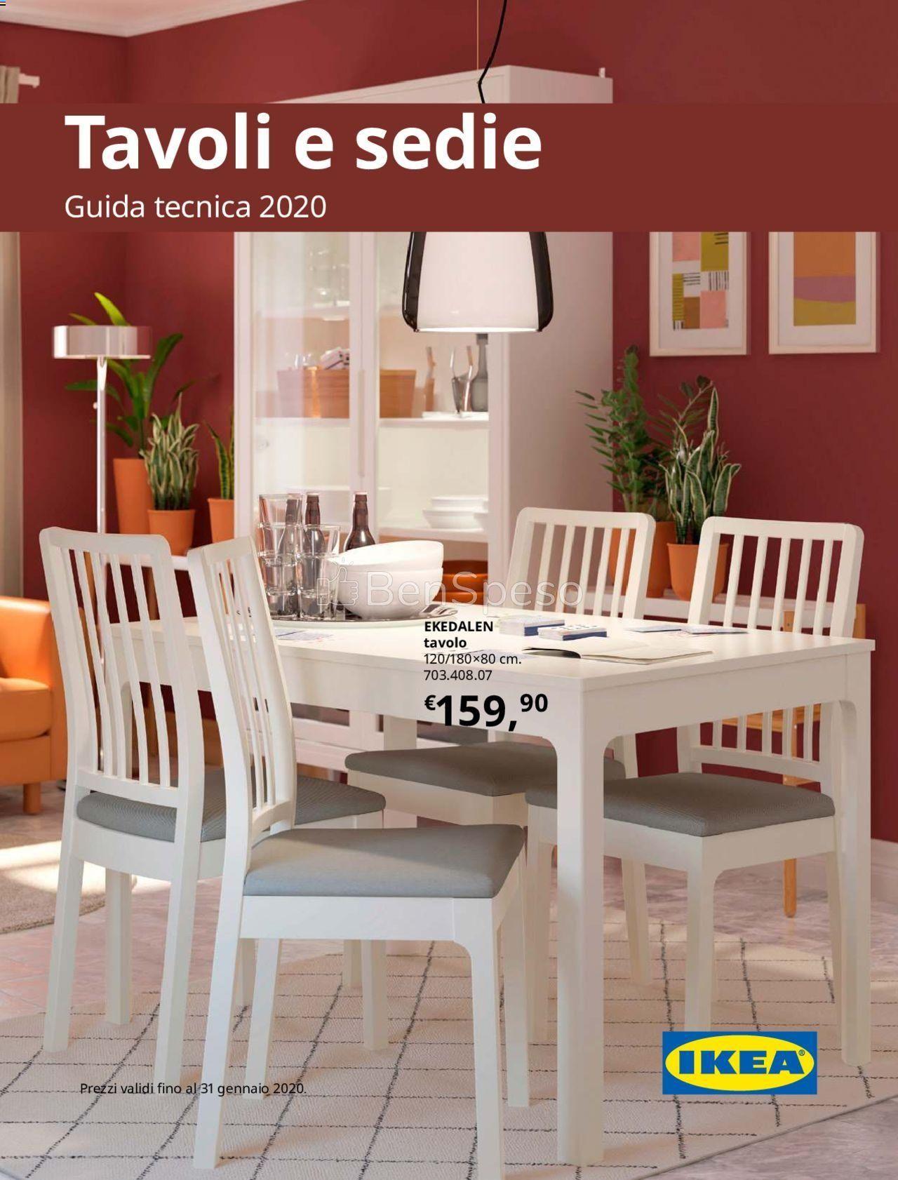 Ikea Tavoli e Sedie - catalogo dal 27 Novembre 2019 | Ikea ...