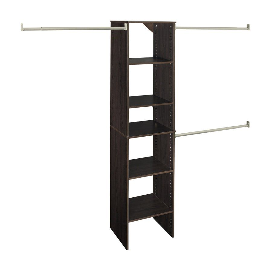 Shop ClosetMaid SuiteSymphony Starter Tower Espresso At Loweu0027s Canada. Find  Our Selection Of Closet Organizers At The Lowest Price Guaranteed With  Price ...