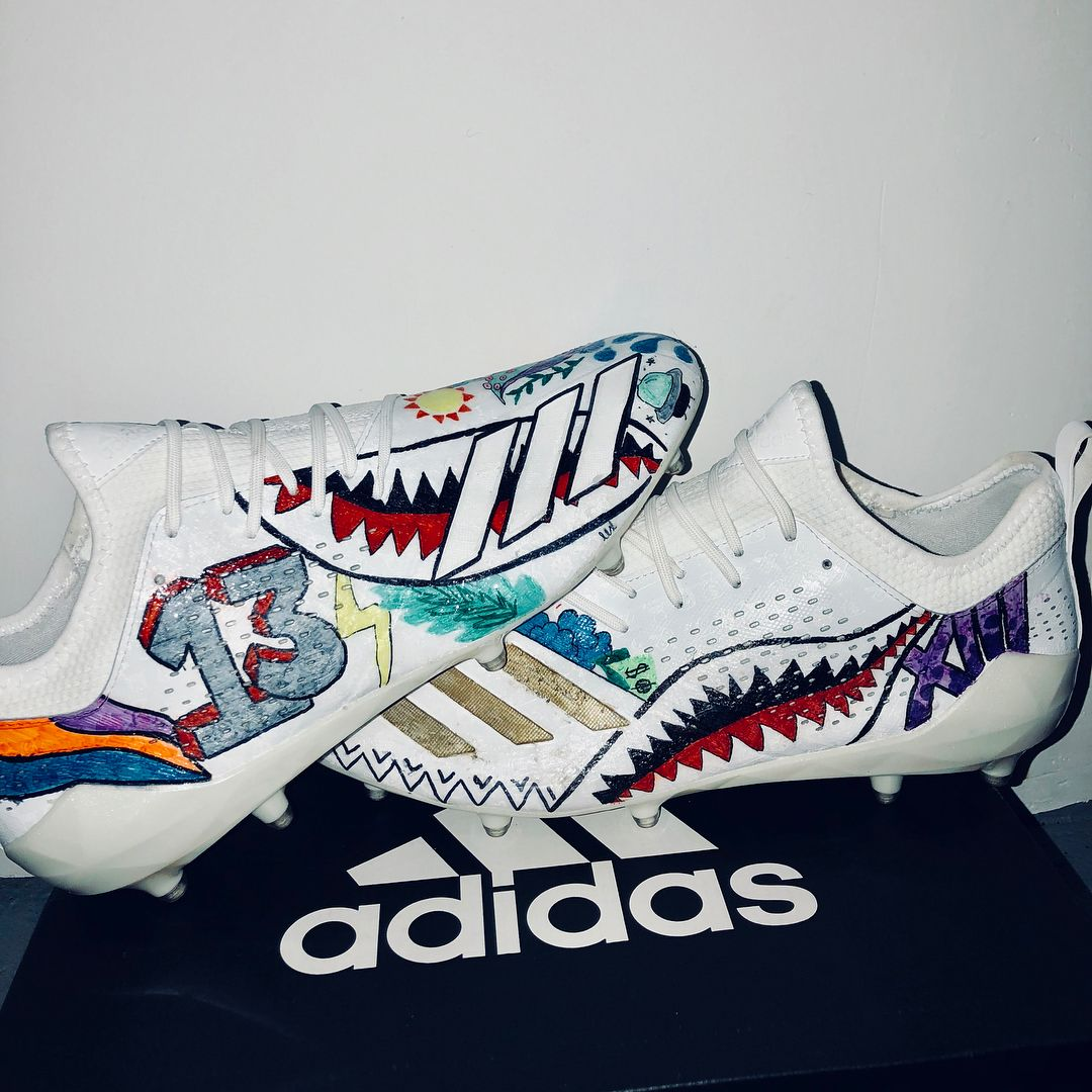 Behind The Scenes By Sneaksforgeeks In 2020 Custom Football Cleats Custom Football Boots Nike Football Boots