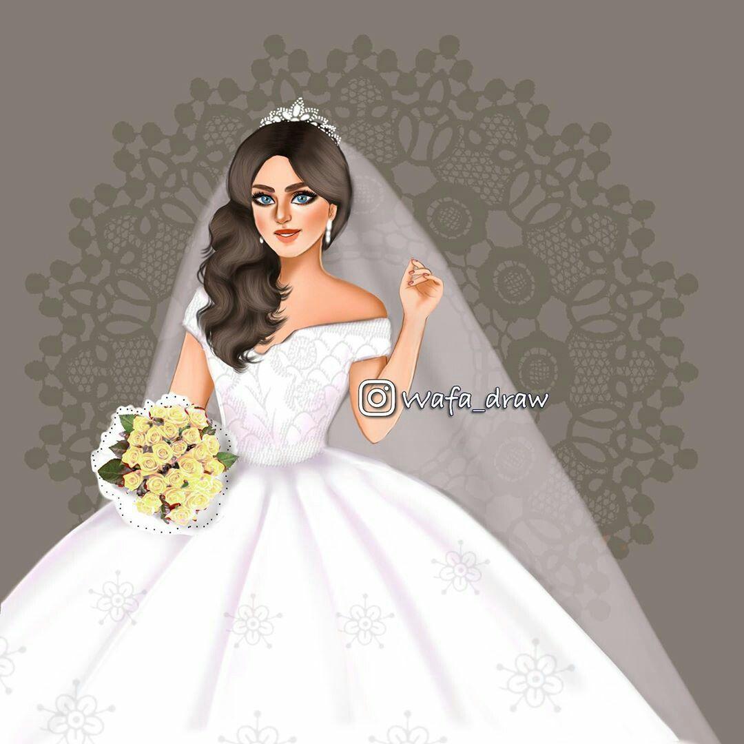 Pin By A Wafa 2 On A Wafa 2 Wedding Dress Illustrations Dress Illustration Character Inspiration Girl