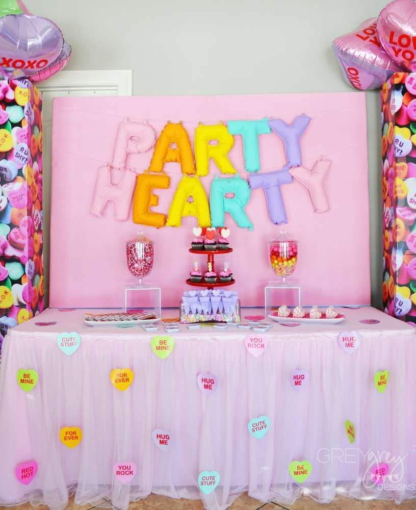 Kids Party Valentine S Day Party Ideas In 2018 Valentine S Day