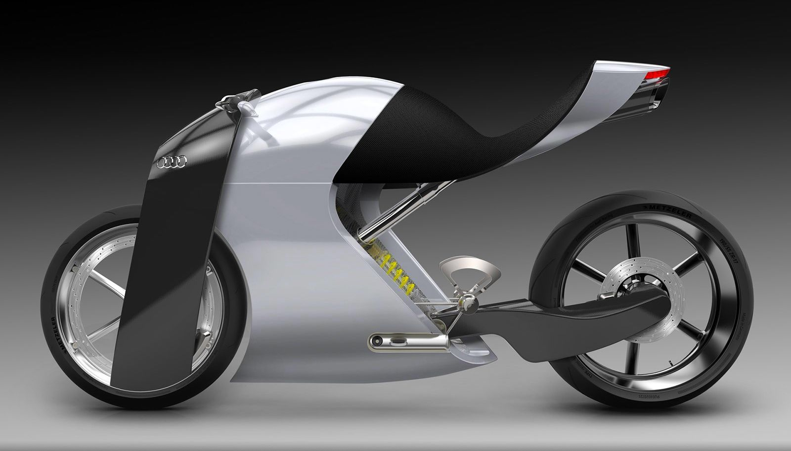 sketch frame design concept body audi bike worthersee e car gallery