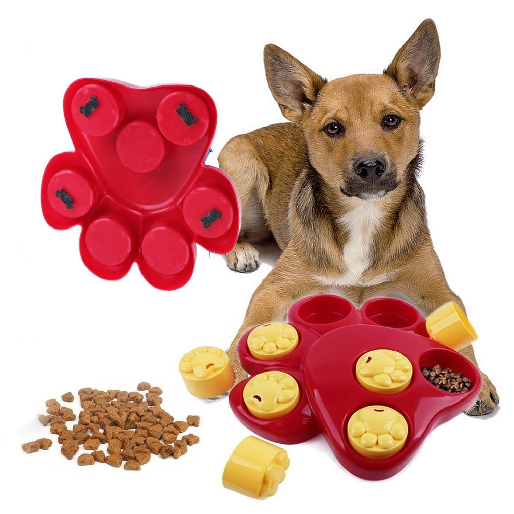 Imichelle Dog Food Treat Puzzle Toy Slow Feeder Bowl Treat
