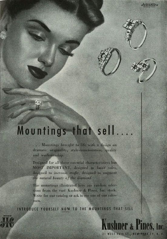 10 Cool Jewelry Ads From the 1930 and 1940s - JCK