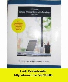 College writing skills with readings 8th edition 9780071221580 college writing skills with readings 8th edition 9780071221580 john langan isbn fandeluxe Choice Image