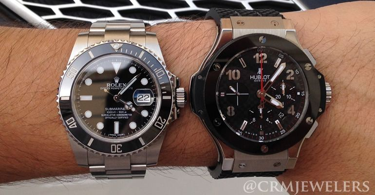 super popular 887df 5773a Rolex vs. Hublot - Which Watch is the One for You? | Rolex