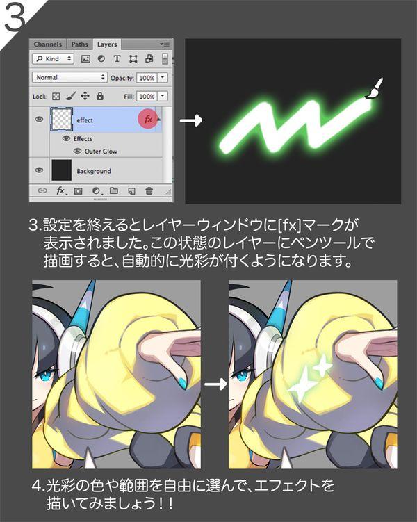 【イラスト】photoshopでエフェクト効果を簡単に描く方法 by さいとう なおき(NaokiSaito)さん | tich