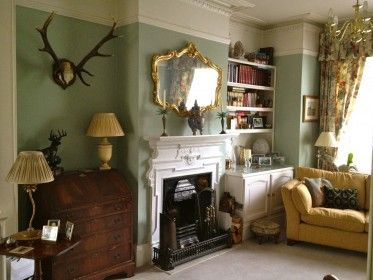 Drawing Room · Alcove Cupboards, Built In Cupboards, Edwardian Fashion, Edwardian  Style, Lounge Decor,