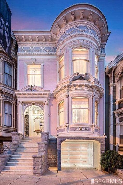 Modern Townhouse Townhouse Designs San Francisco: San Francisco Victorian Houses, San Francisco