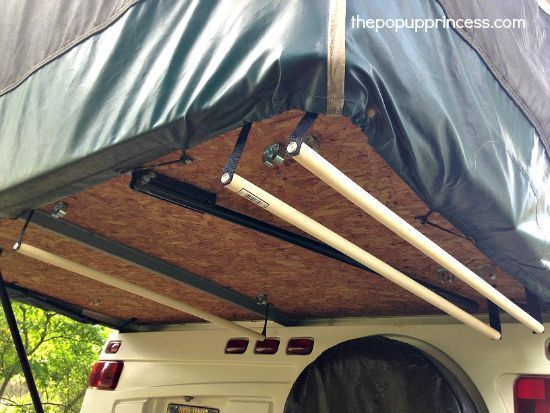 Megan S Pop Up Camper Makeover Pop Up Tent Trailer