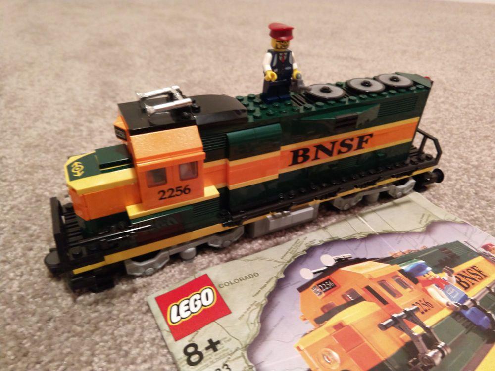 Lego train burlington northern santa fe 10133 lego