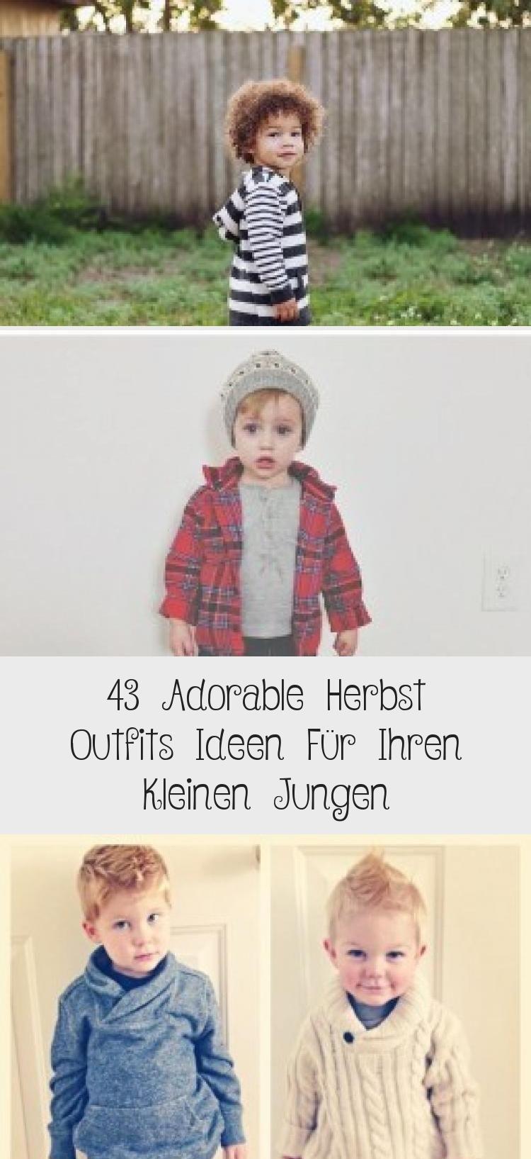 43 Adorable Herbst Outfits Ideen Für Ihren Kleinen Jungen – Mode
