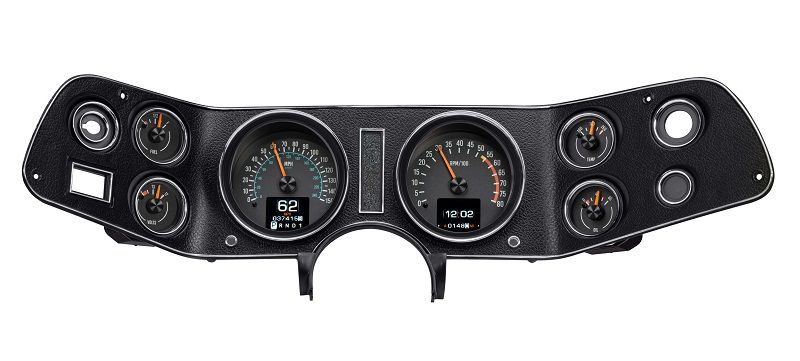 Rtx 70c Cam X Dakota Digital 1970 78 Chevy Camaro Retrotech Series Gauge System Phoenix Tuning Electronic Products Chevy Digital
