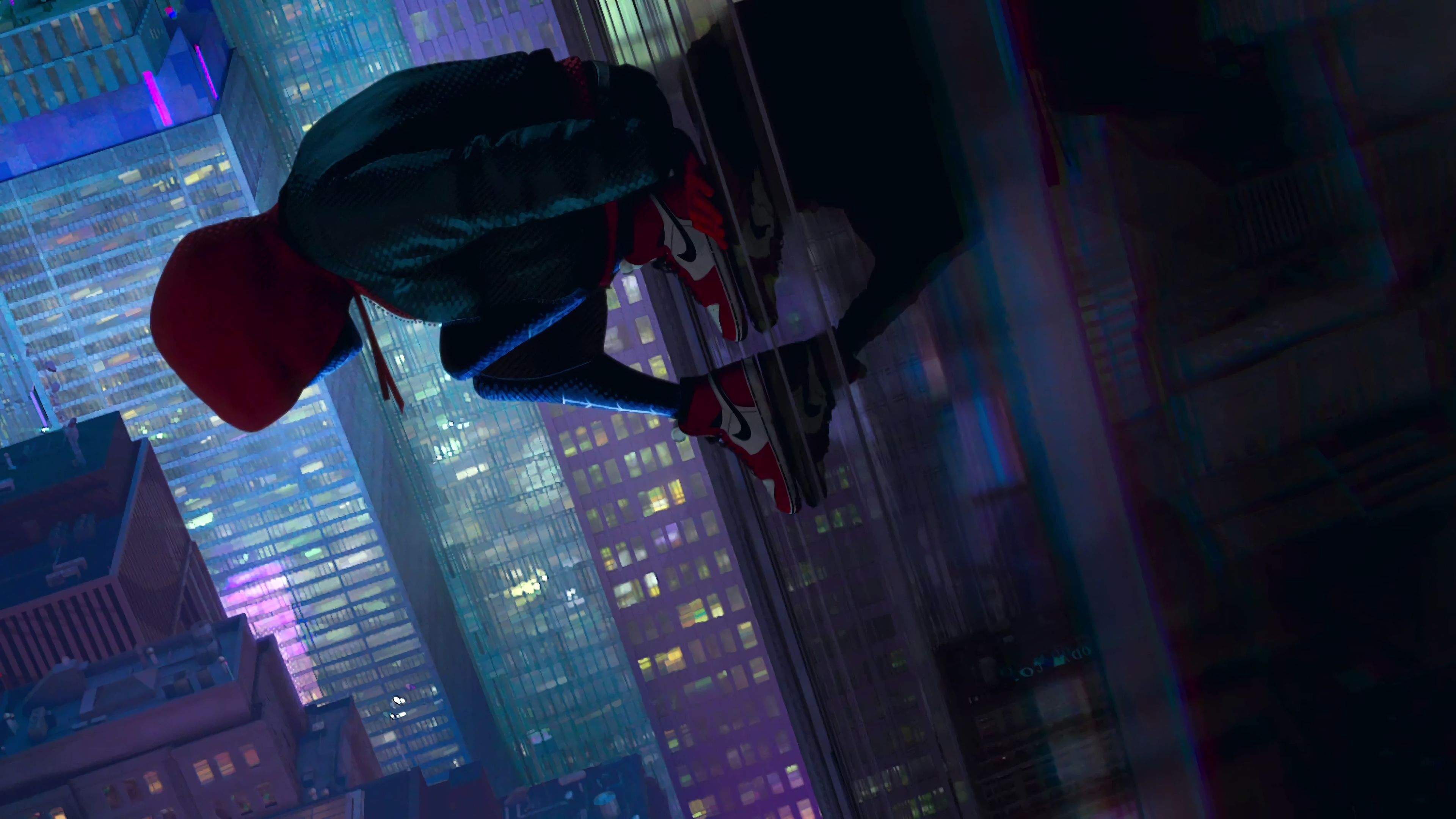 Spiderman Into The Spiderverse 3840x2160 Spider Verse Marvel Wallpaper Movie Wallpapers