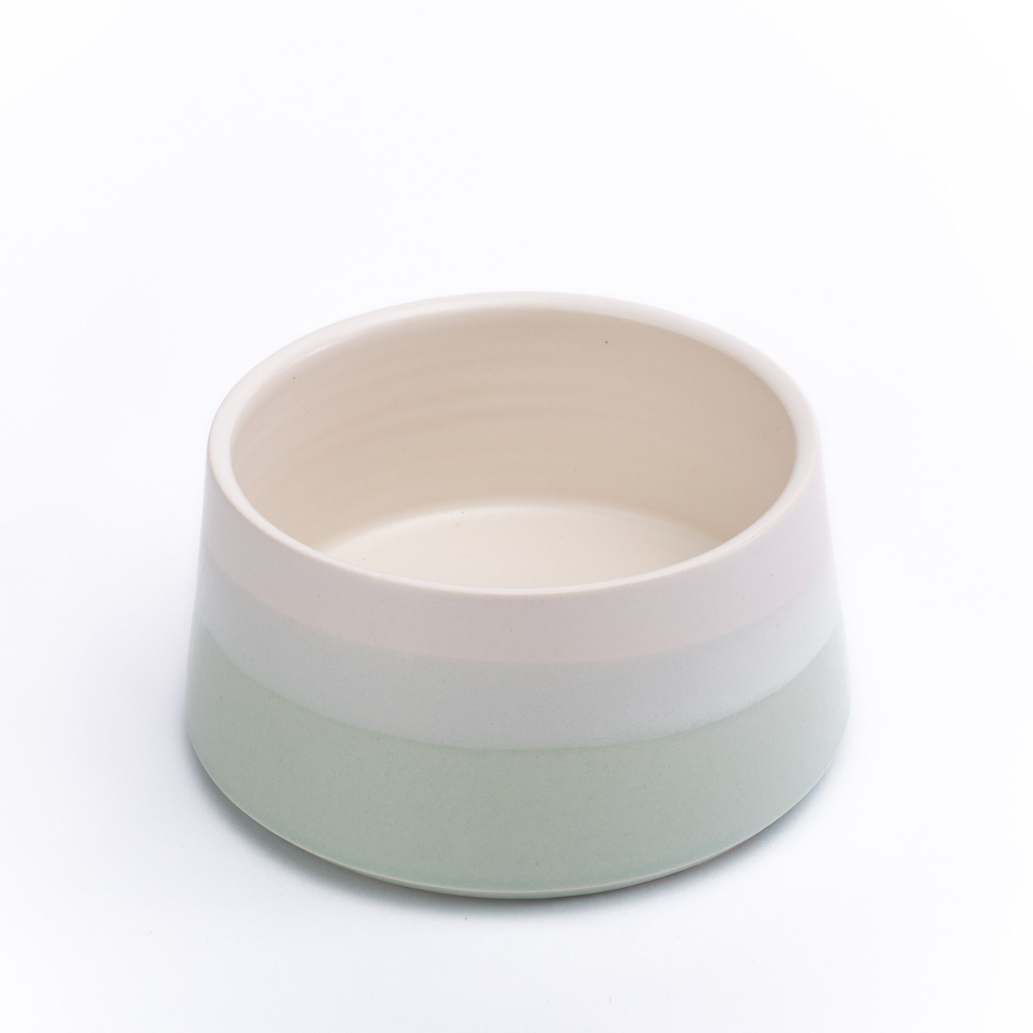 a paper  clay for lucy  co exclusive the bowls adorning your  - dog bowl (mint) by paper  clay