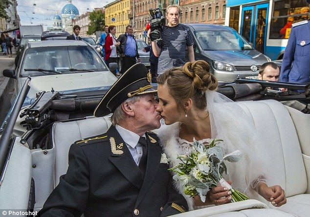 Russian actor, 84, ties the knot with his 24-year-old fiancée - and now they plan on starting a family - https://www.nollywoodfreaks.com/russian-actor-84-ties-the-knot-with-his-24-year-old-fiancee-and-now-they-plan-on-starting-a-family/